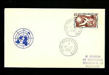 Postal History St. Pierre+Miquelon Scott #356 FDC UN Human Rights 12/10/1958