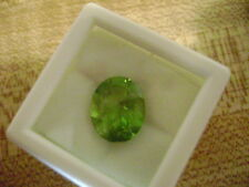 Natural Apple Green Peridot Oval 9x7 Lot of 2 Stone Ebays Best Deal