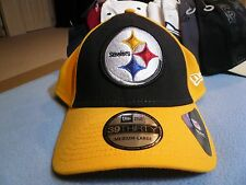 New Era 39thirty Pittsburgh Steelers BRAND NEW Medium-Large cap hat NFL Football