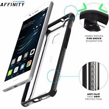 POETIC Affinity Dual material Slim fit Protective Case for Huawei P9 Lite Black