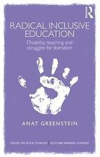 Concepts for Critical Psychology: Radical Inclusive Education : Disability,...