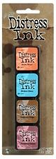 Tim Holtz MINI DISTRESS INK PADS SET 6 Ranger TDPK40361