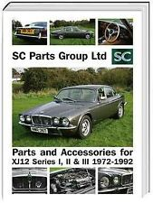 Jaguar XJ12 series 1 to 3 V12 parts catalogue, brakes, suspension, engine, tools