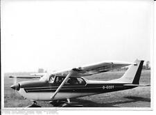 Originalfoto Sportflugzeug Flugzeug auf Flugplatz D-ECDT