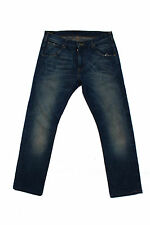 LEE ZED MENS JEANS Regular DENIM STRAIGHT COTTON SIZE W32 L31 FADED Flared