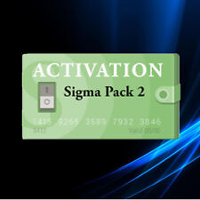 Sigma Pack 2 Activation Code for Sigma Box