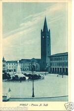 em 100 Anni 30 FORLI' Piazza Aurelio Saffi - non viaggiata  FP Ediz. Medri Forlì