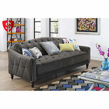 Tufted Sofa Couch Convertible Living Room Indoor Furniture Sleeper Seat Bed