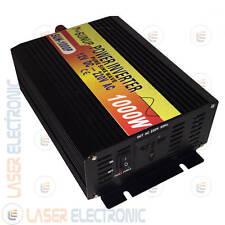 INVERTER AD ISOLA ONDA SINUSOIDALE PURA 1000W (max2000W) DA 12V DC A 220V AC