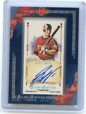 2011 TOPPS ALLEN & GINTER #AGA-BW BRETT WALLACE AUTOGRAPH AUTO ROOKIE RC, ASTROS