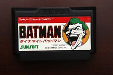 Famicom FC Batman Dynamite Japan Nintendo game US Seller