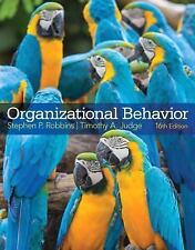 ORGANIZATIONAL BEHAVIOR +  - TIMOTHY A. JUDGE STEPHEN P. ROBBINS (HARDCOVER) NEW