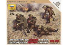 ZVEZDA 6167 1/72 British Machine Gun Crew