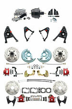 """Camaro 1967-69 F-Body Front & Rear Disc Brake 8"""" Booster Control Arms Package"""