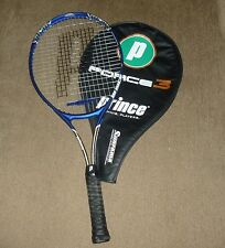 PRINCE FORCE 3 SUPREME TI OVERSIZE TENNIS RACQUET W/ COVER GREAT CONDITION #1271