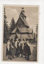 Opsyn Pa Norsk Folkemuseum Norway Vintage RP Postcard 109b