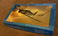 pacific coast models 1/32 focke-wulf fw190 1/2/3 not tamiya, trumpter