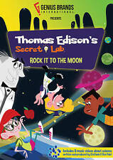 Thomas Edison's Secret Lab: Rock It To The Moon DVD -Brand New, Sealed
