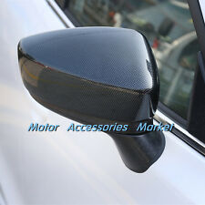 New Carbon Fiber Style Mirror Cover Trim for Mazda 3 M3 2014 2015 2016 Axela