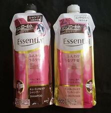ESSENTIAL AUTO SMOOTH  SHAMPOO AND CONDITIONER from Japan