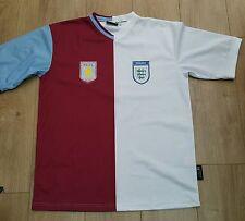 Aston Villa and England Half and Half shirt xl