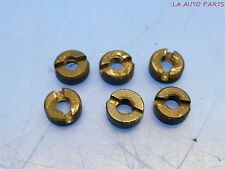 PORSCHE 944 924S REAR RUBBER SPOILER WING ARMS MOUNTING NUTS HARDWARE *SP