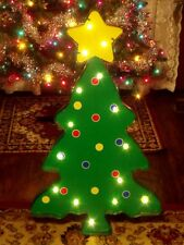 OUTDOOR LIGHTED LED CHRISTMAS TREE STAR TOPPER MARQUEE SIGN YARD LIGHT DISPLAY 3