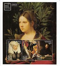 Micronesia 2014 Mnh Mundo famosas pinturas 3v Ms Ii Peter Paul Rubens Caravaggio