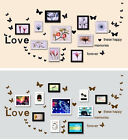 Butterfly Love Quote Wall Sticker Vinyl Decal Mural Art Kids Nursery Room Decor