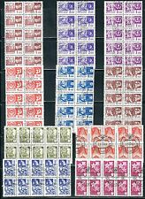 Russia - 100 Stamps,  10 Blocks of 10 Stamps..............Br......D 6D22