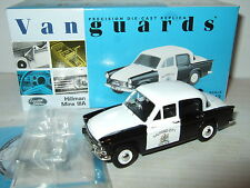 New Vanguards VA06801 Hillman Minx 111A Salford City Police in 1:43 scale.