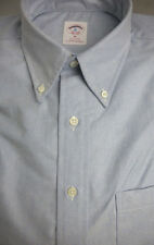 Brooks Brothers Blue Oxford BD Collar Shirt ~ NWOT - Slim Fit ~ USA Medium - New
