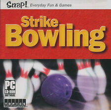 STRIKE BOWLING Snap! Bowling APC Sim Game NEW SEALED!