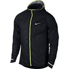 NIKE NEW IMPOSSIBLY LIGHT RUNNING WINDBREAKER JACKET 620057-010 MENS SIZE XL