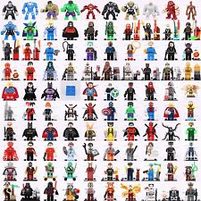 10PCS NEW LEGO LOT Over 1000 random of minifigure Superheroes Star Wars City set