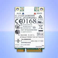 Lenovo ThinkPad UMTS WWAN Gobi2000 Qualcomm T410 T510 X201 W510 X100e L412 Edge