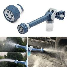 Garden 8in1 Water Jet Spray Gun Sprinkler Nozzle Wash Yard Car Watering Clean AD