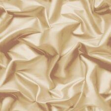Wallpaper Muriva - Luxury Gathered Silk Crushed Velvet - Cream / Gold - F729-06