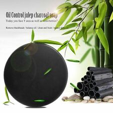 Carbon Bamboo Charcoal Blackhead Remover Purify Deep Cleansing Oil Control Soap