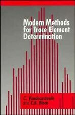 Modern Methods for Trace Element Determination