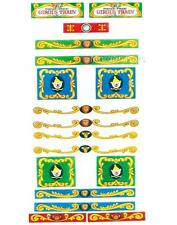 FISHER-PRICE CIRCUS TRAIN 991 COMPLETE REPLACEMENT LITHOS STICKERS Little People