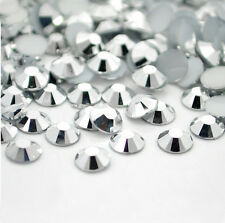 100-500 AVANT CRYSTAL FLAT BACK RHINESTONES NON-HOTFIX ASSORTED NAIL ART CRAFT