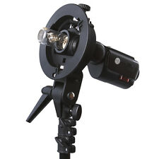 Neewer S-type Flash Speedlite Bracket Mount for Nikon SB910 Canon 580EX Sony