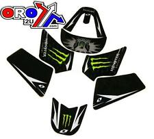 New YAMAHA PW 50 90-17 Monster Black Graphics Sticker Decal Kit PW50 PEE WEE