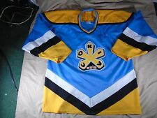 VTg 90s Bauer Russian Authentics Sokil Kiev Ukraine Falcons Hockey Jersey Sz L