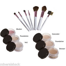 Mineralshack natural mineral makeup powder  Fairly Neutral Matte 13 piece set
