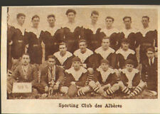 66 SPORT EQUIPE RUGBY SPORTING CLUB DES ALBERES IMAGE 1929
