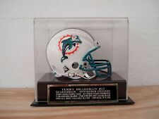 Display Case For Your Terry Bradshaw Steelers Autographed Football Mini Helmet