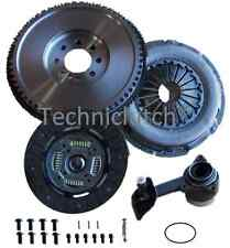 DUAL - SOLID REPLACEMENT FLYWHEEL AND CLUTCH KIT CSC, BOLTS JAGUAR X TYPE 2.0 TD