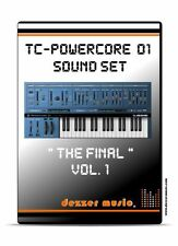 "tc electronic Powercore 01 ""The final"" Vol.1 - 100 Sound Patches / Sound Presets"